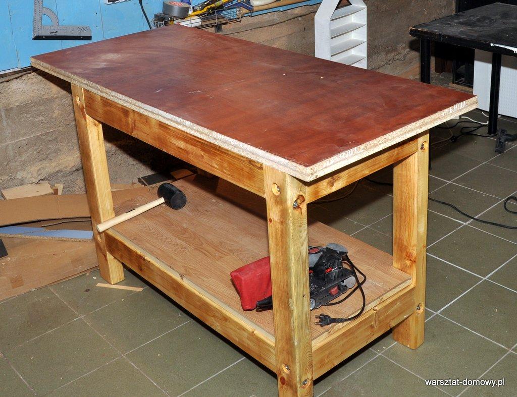 Cudowna Projekt: Stół warsztatowy | Amatorski Warsztat Domowy - Część 4 HX78