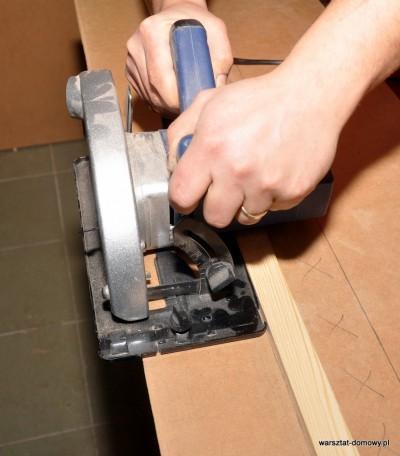 DSC 2363 400x456 Prowadnica do pilarki ręcznej   efektywny sposób na proste linie