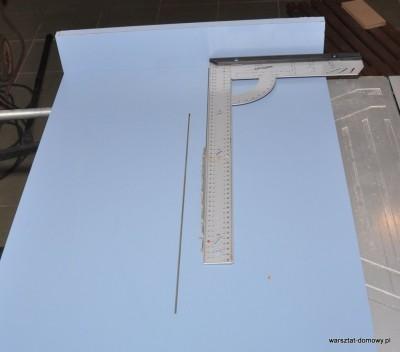 DSC 2312 400x352 Sanki do piły stołowej do dokładnego cięcia listew