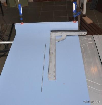 DSC 2316 400x410 Sanki do piły stołowej do dokładnego cięcia listew