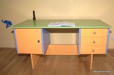 DSC 0163 400x266 Odnawiam biurko dla dziecka