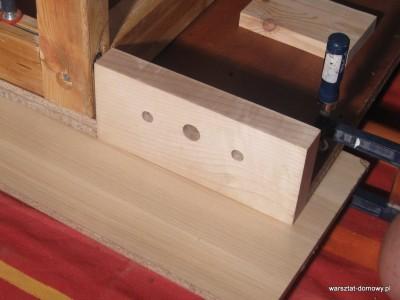 IMG 0570 400x300 Instalacja imadła czołowego do stołu warsztatowego   cz. 2