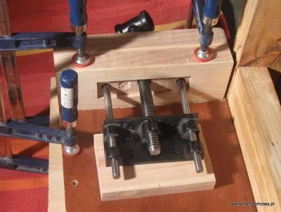 IMG 0578 400x301 Instalacja imadła czołowego do stołu warsztatowego   cz. 2