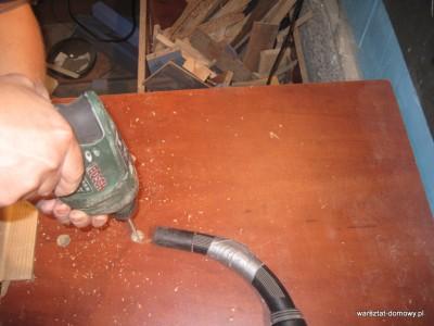 IMG 0609 400x300 Instalacja imadła czołowego do stołu warsztatowego   cz. 2