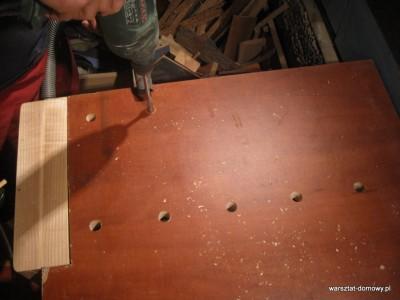 IMG 0611 400x300 Instalacja imadła czołowego do stołu warsztatowego   cz. 2