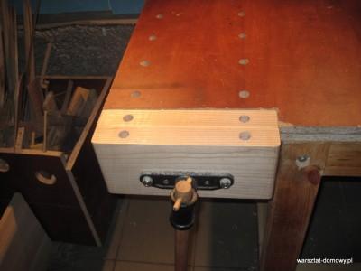 IMG 0615 400x300 Instalacja imadła czołowego do stołu warsztatowego   cz. 2