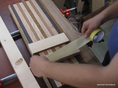 IMG 0838 400x300 Deska dokrojenia zkolorowego drewna