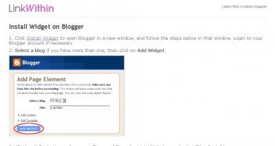 LinkWithin Install Widget on Blogger Mozilla Firefox 2013 02 13 132035 400x213 Jak założyć własnego bloga   cz.2   Gadżety