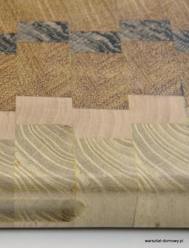 DSC 4081 380x500 Kwadratowa deska do krojenia   jesion, mahoń, czarny dąb