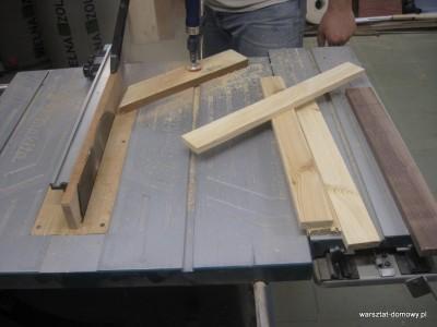 IMG 1153 400x300 Płotek z kolorowego drewna na prezent ślubny