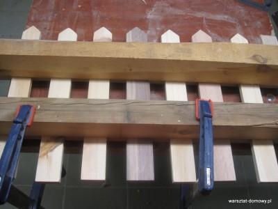 IMG 1181 001 400x300 Płotek z kolorowego drewna na prezent ślubny