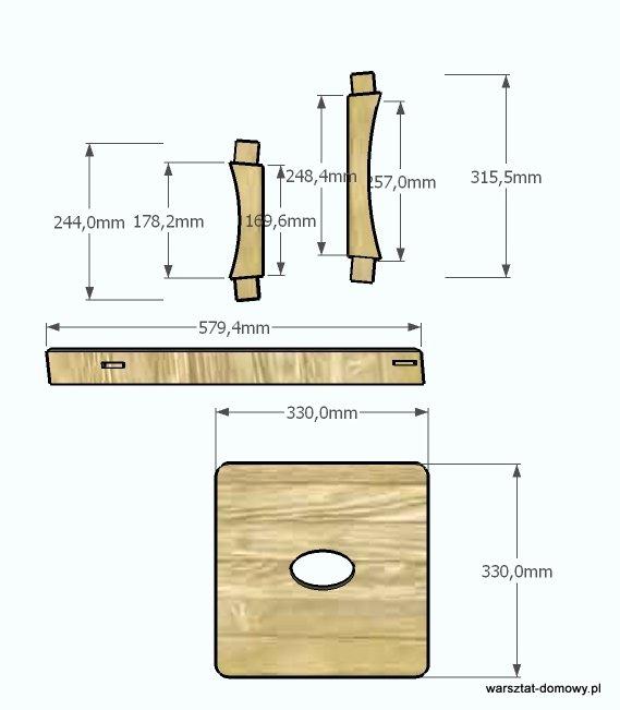 stolek warsztatowy 2014-01-12 - wymiary