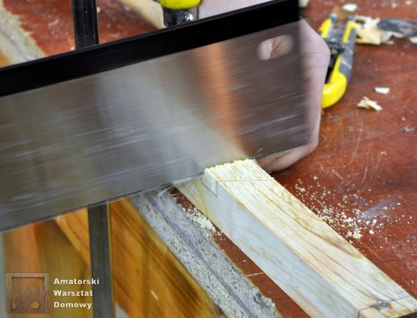 08 DSC 0358 600x458 Półokrągły stojak na drewno kominkowe   cz. 2
