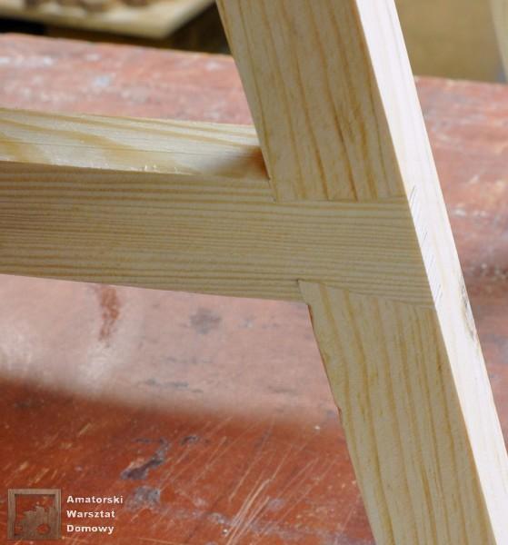 21 DSC 0412 001 559x600 Półokrągły stojak na drewno kominkowe   cz. 2