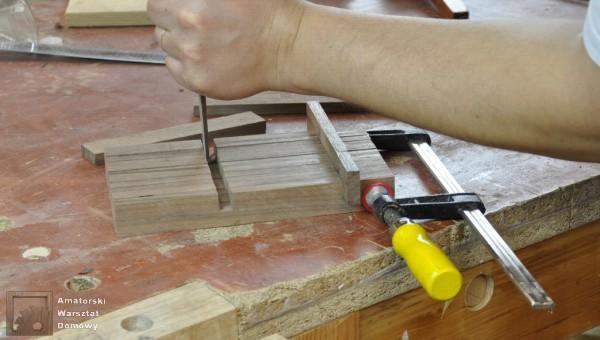 DSC 0086 600x340 Składana podstawka na świąteczny stół   pomysł na prezent