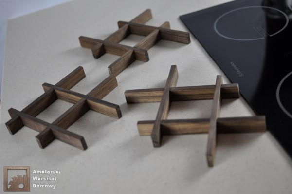 DSC 0141 600x398 Składana podstawka na świąteczny stół   pomysł na prezent