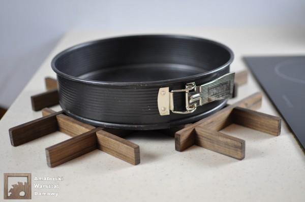 DSC 0148 600x398 Składana podstawka na świąteczny stół   pomysł na prezent