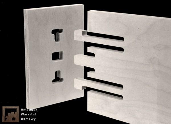clip tenons 600x433 Pięćdziesiąt połączeń stolarskich   Flexible Stream