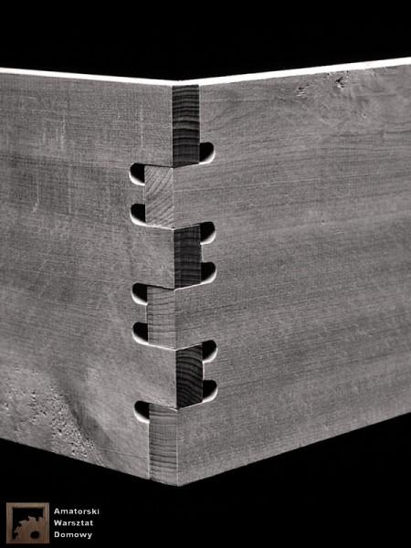finger tenons 450x600 Pięćdziesiąt połączeń stolarskich   Flexible Stream