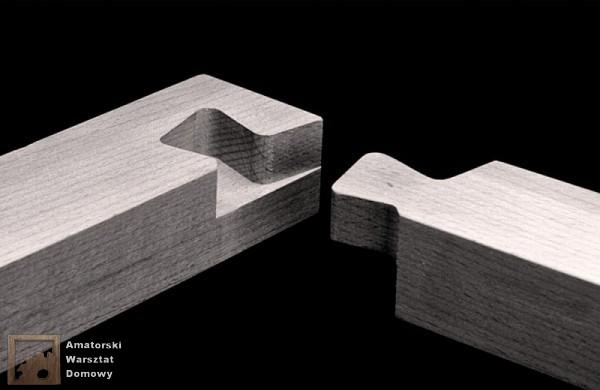 halved dovetail corner 600x390 Pięćdziesiąt połączeń stolarskich   Flexible Stream