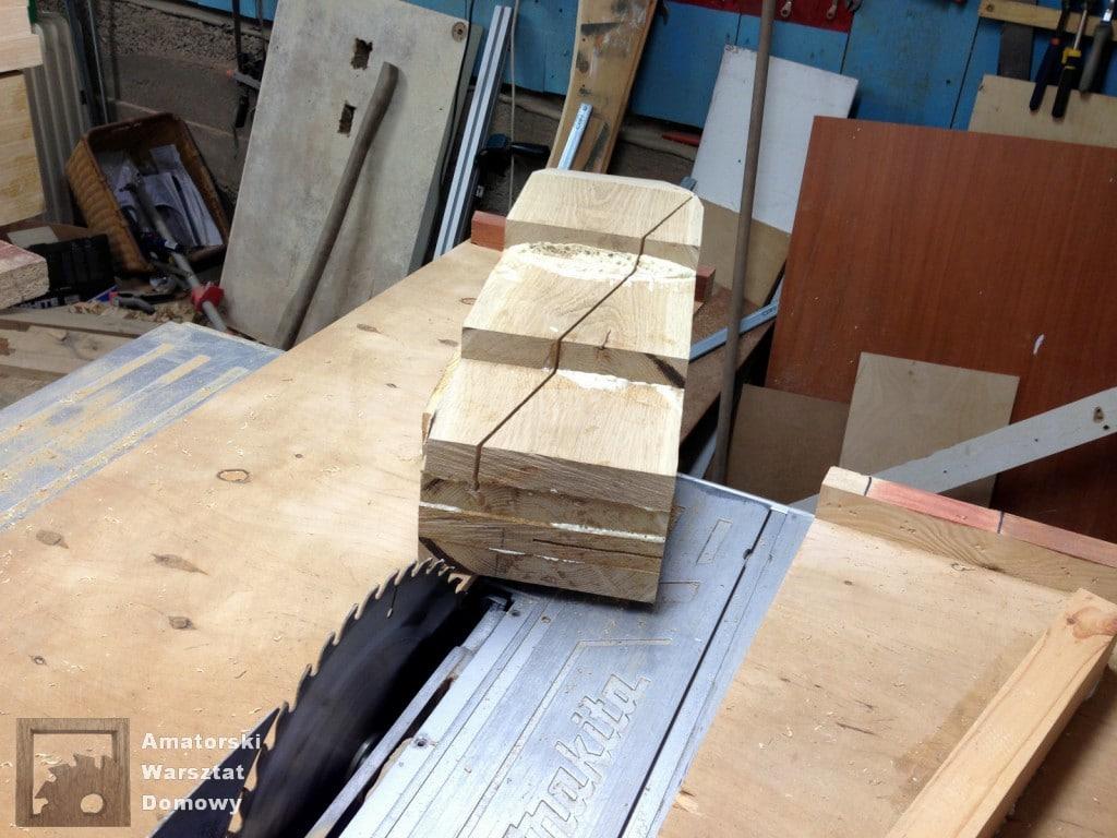 IMG 5628 1024x768 Dębowy stołek według projektu pani Joanny