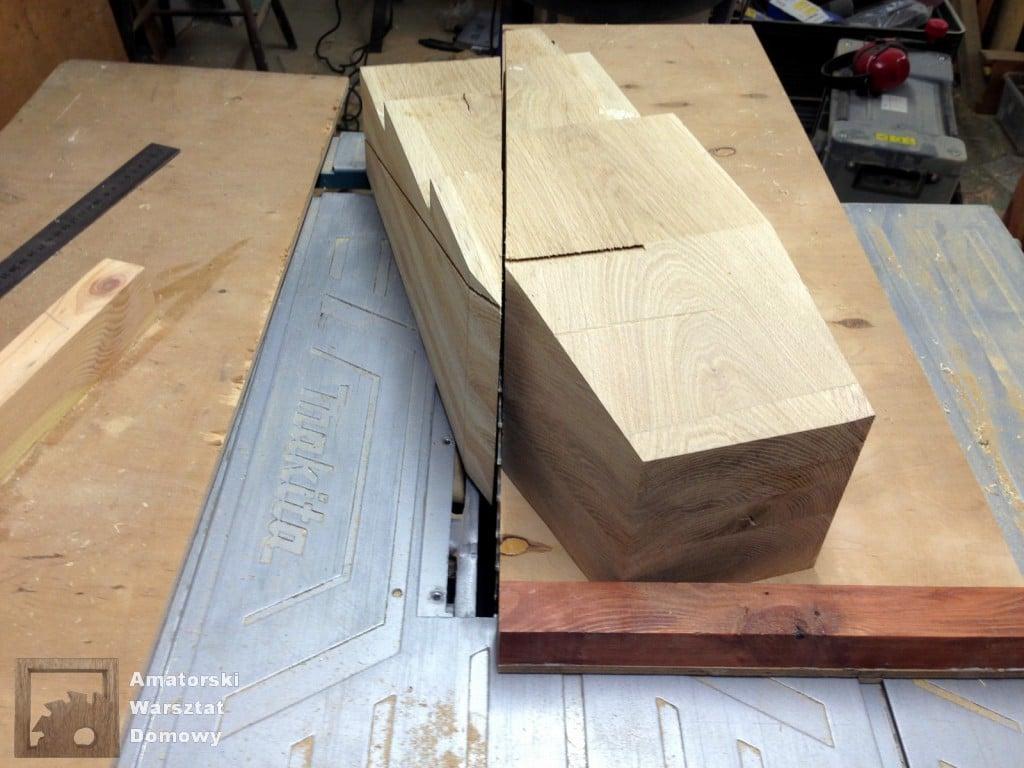IMG 5629 1024x768 Dębowy stołek według projektu pani Joanny