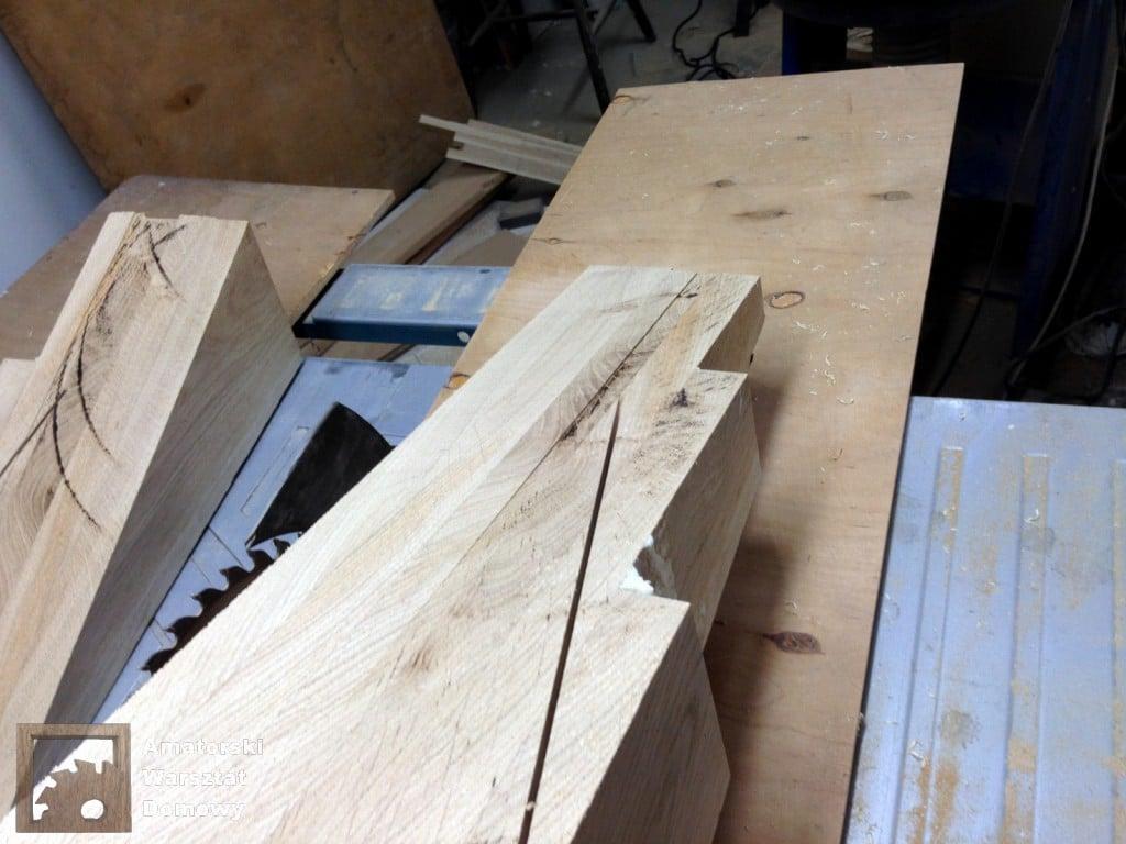 IMG 5631 1024x768 Dębowy stołek według projektu pani Joanny