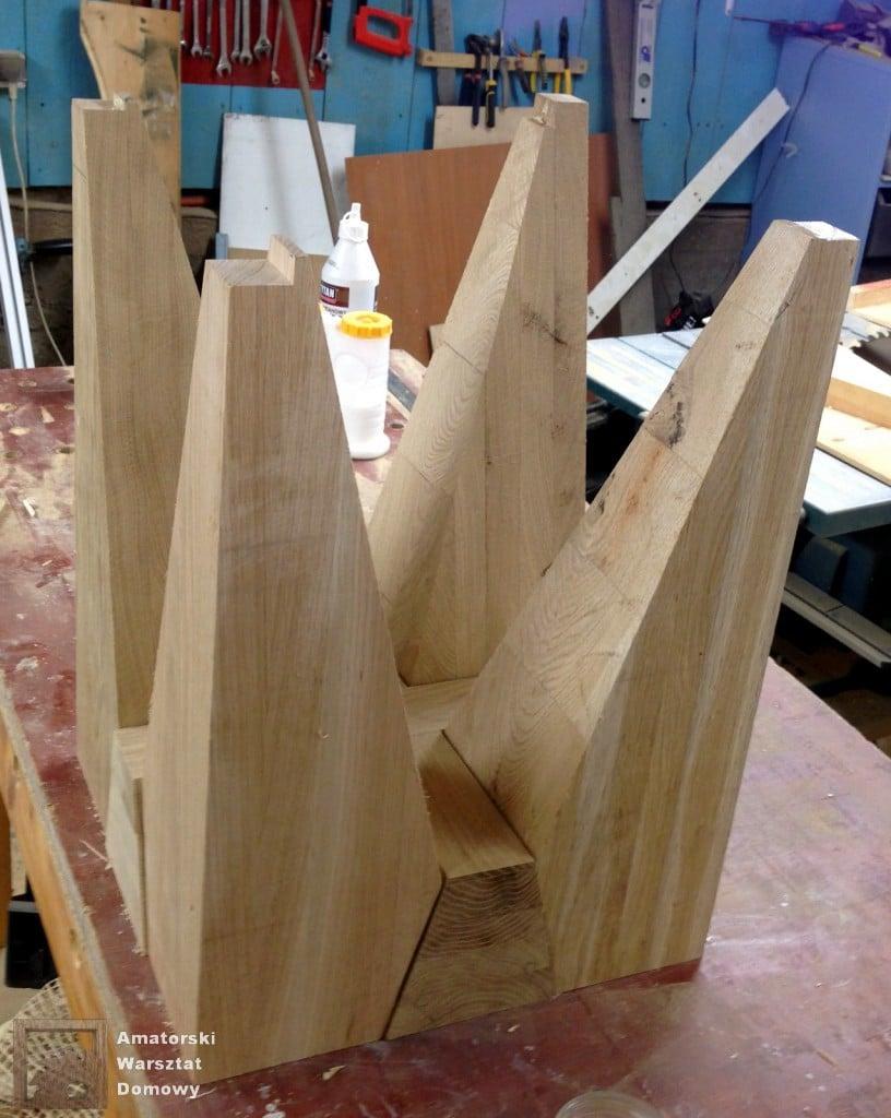 IMG 5651 816x1024 Dębowy stołek według projektu pani Joanny