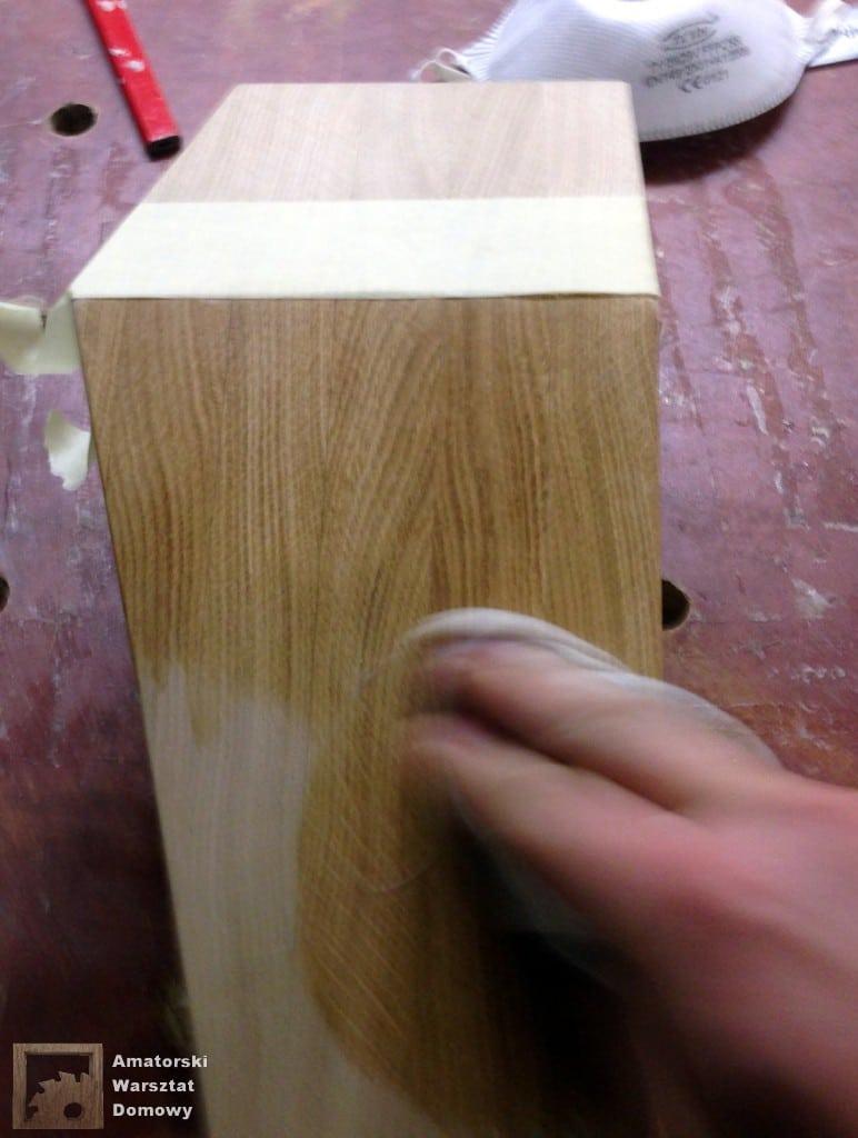 IMG 5662 772x1024 Dębowy stołek według projektu pani Joanny