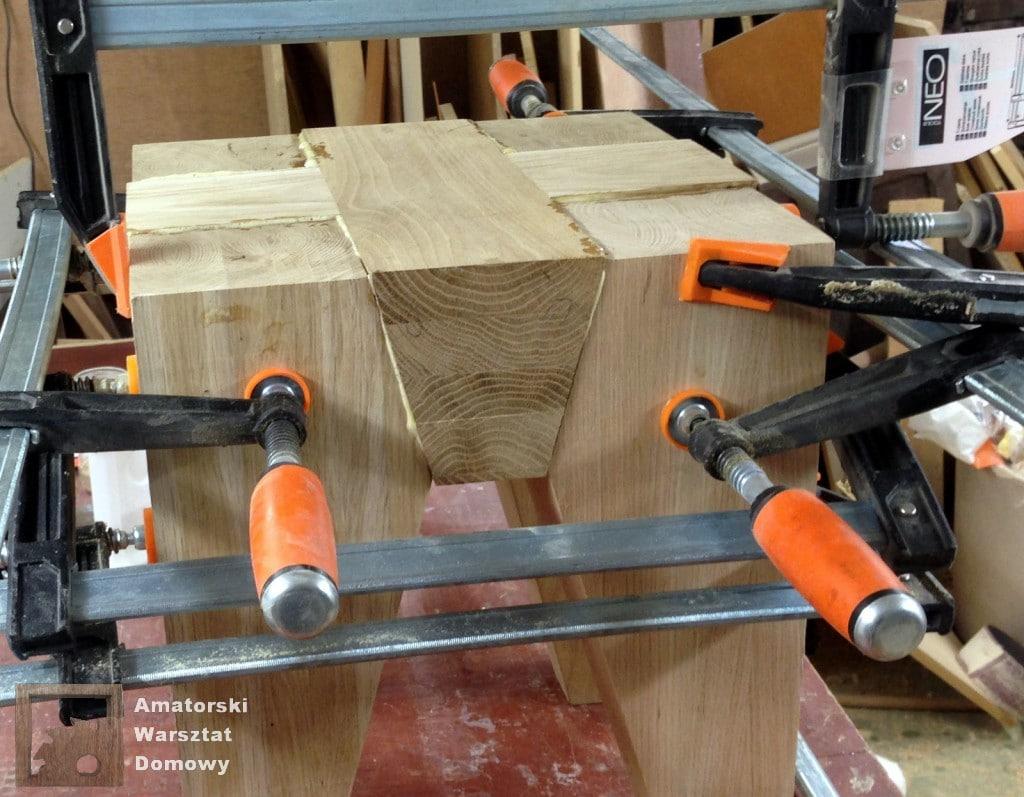 IMG 5676 1024x797 Dębowy stołek według projektu pani Joanny